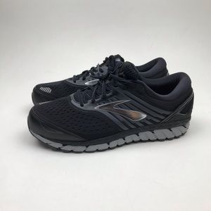 Brooks Beast 18 4E Extra Wide Black Running Shoes